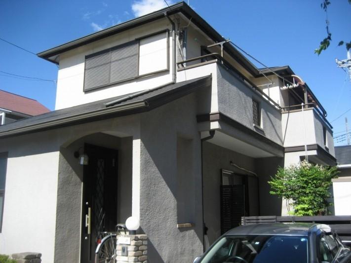 上尾市の現場調査の写真