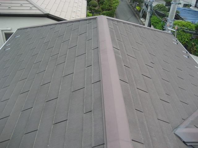 越谷市 屋根棟から撮影 写真