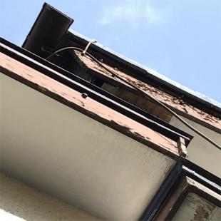 お客様の家の破風板