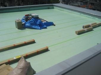 相模原市で防水張替え工事