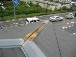 上尾市で屋根棟工事