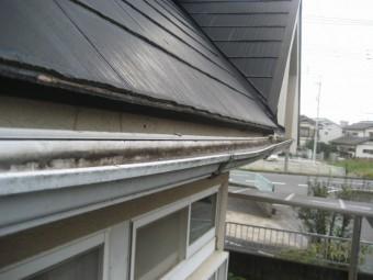 桶川市の雨樋の反対側の写真