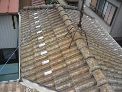 屋根 施工前 西区