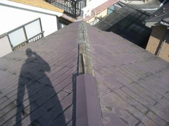 瑞穂町で屋根工事