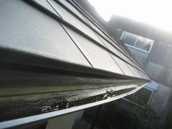 桶川市で雨樋の現場調査