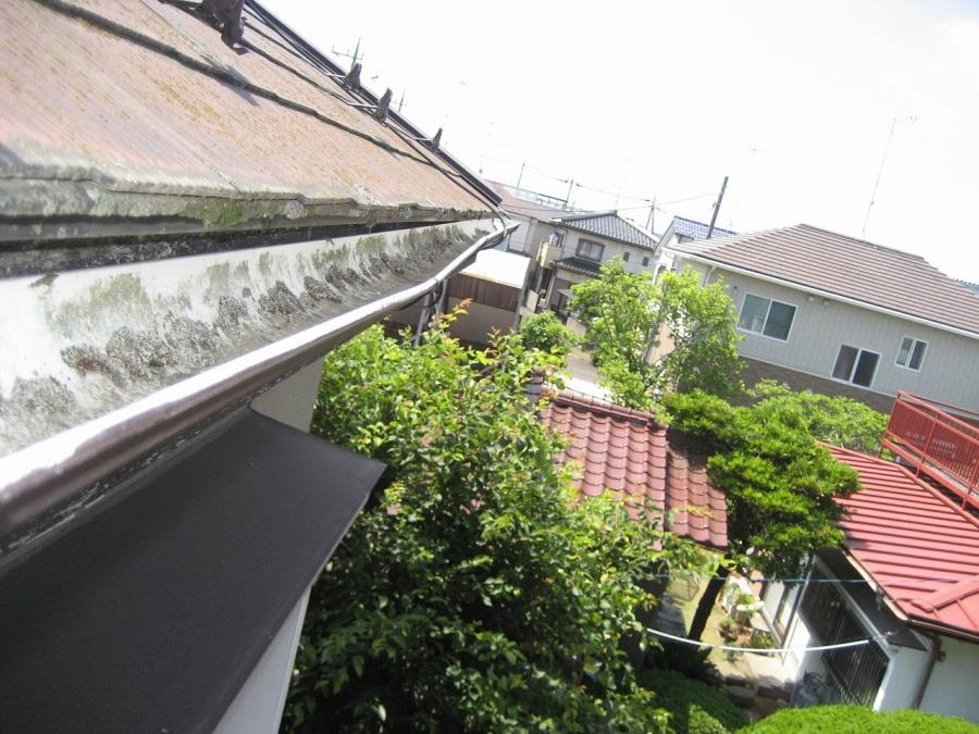 行田市 雨樋 現場調査
