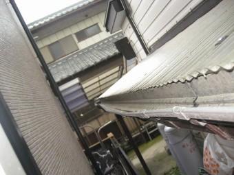 加須市雨樋写真