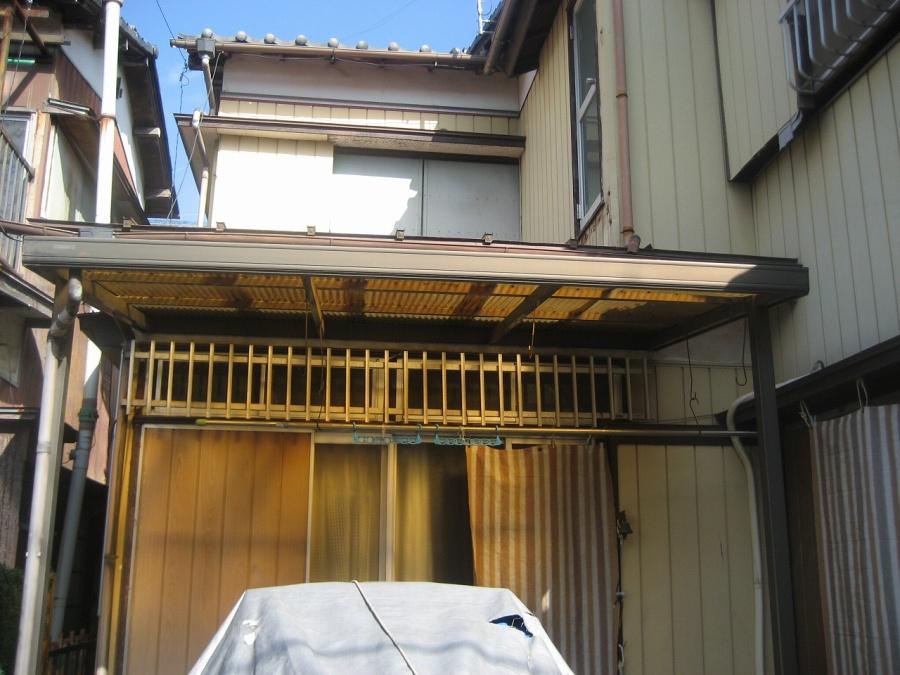 上尾市のお客様宅のトタン屋根写真