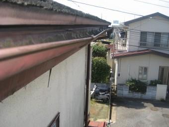 上尾市で雨樋の施工事例