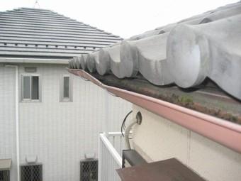 羽生市の雨樋施工前