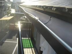 川越市で雨樋交換工事