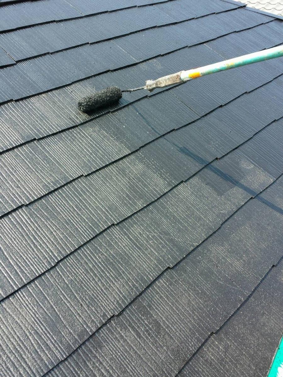 屋根 上塗り 北区