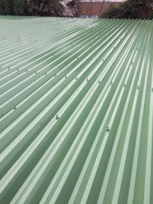 屋根 折半 塗装