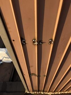 瑞穂町で屋根板金の施工事例