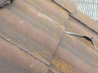 川越市で瓦の葺き替えと補修工事を行いました