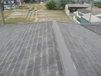 蓮田市で屋根の現場調査