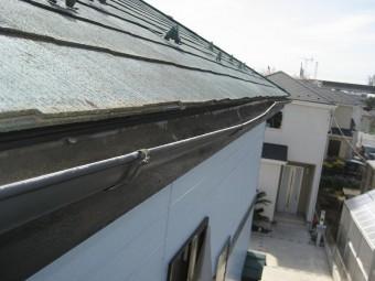 上尾市の雨樋反対側の写真