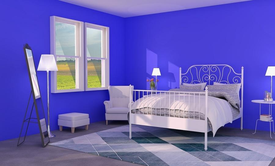 青い家イメージ写真